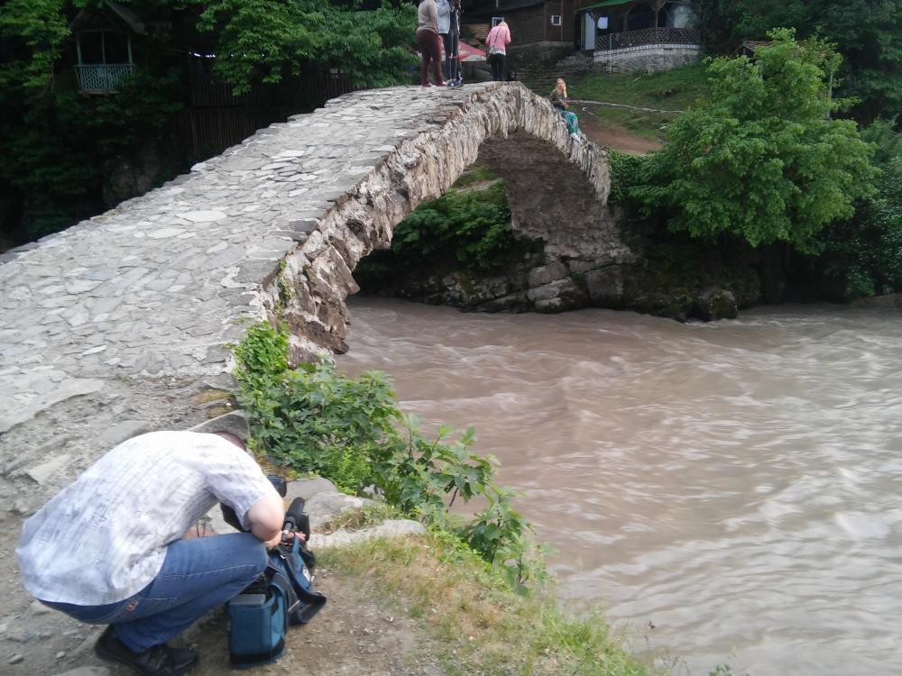 Арочный мост XII века.