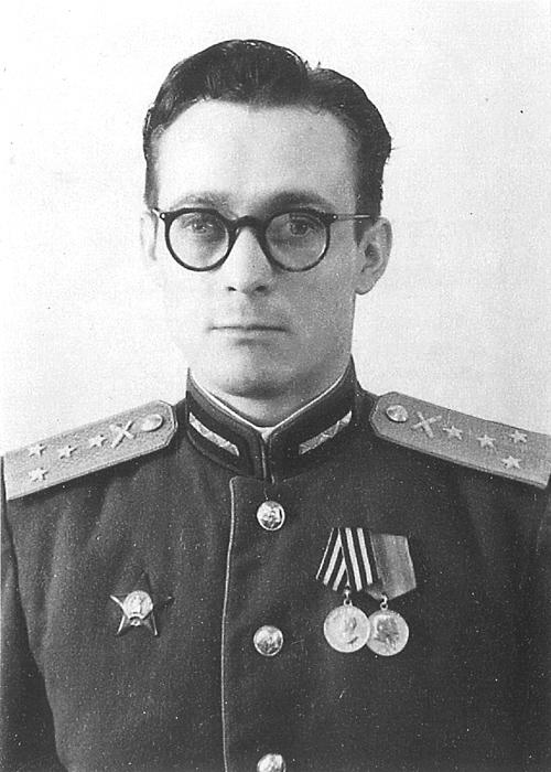 Капитан Н. М. Ганул.