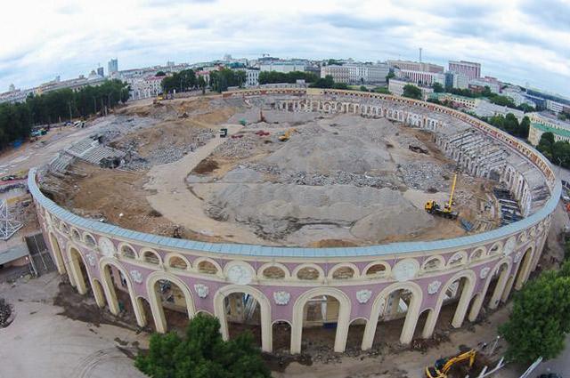 В конце 2012 года «Динамо» закрыли на очередную реконструкцию, которая длится по сей день.