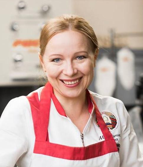 Елена Микульчик, шеф-повар, эксперт белорусской кухни