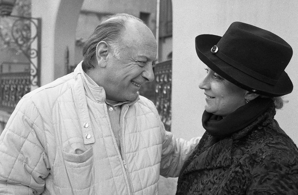 Не просто супруги, но и «заговорщики»: Софико и Махарадзе придумали собственный шифр.