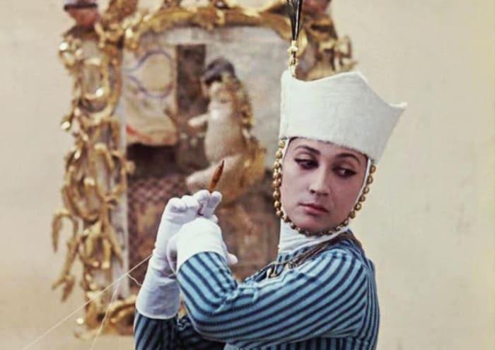 Параджанов, снявший Чиаурели в «Цвете граната», называл ее своей музой.