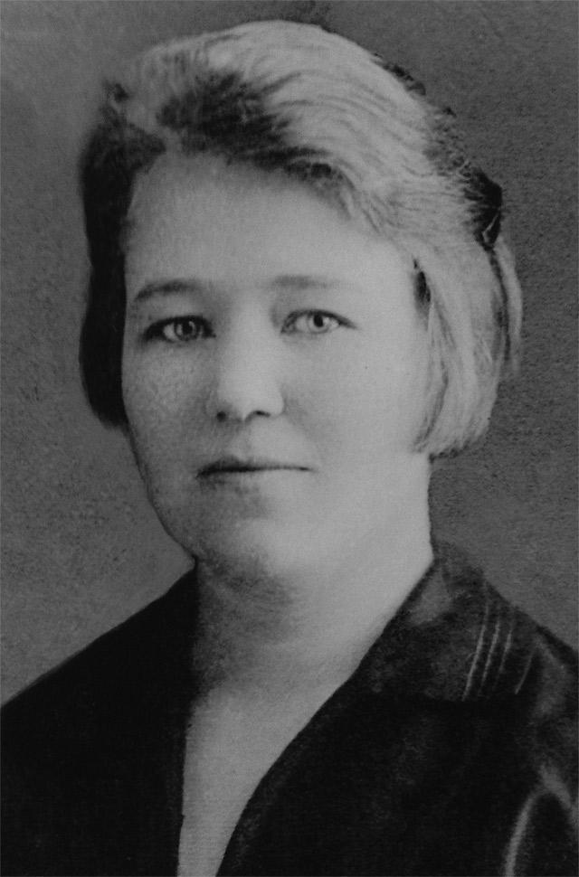 Супруга Кондрата Крапивы.