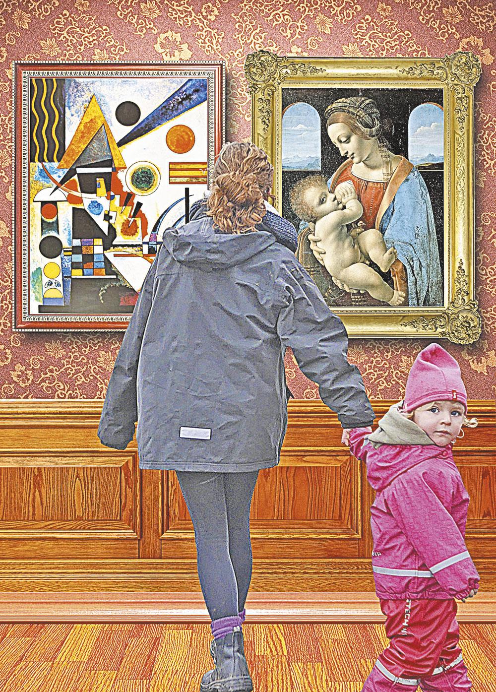 Собираясь во время поездки посетить известный музей - Эрмитаж или Лувр, - выберите несколько знаковых произведений, которые обязательно нужно увидеть.