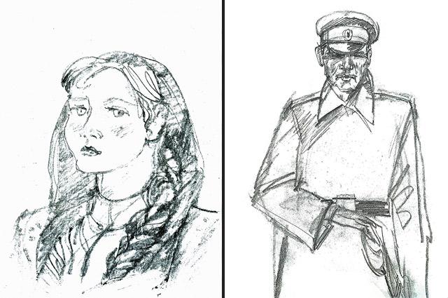 Катя Абакшина и Кондрат Атрахович. 2010 г.