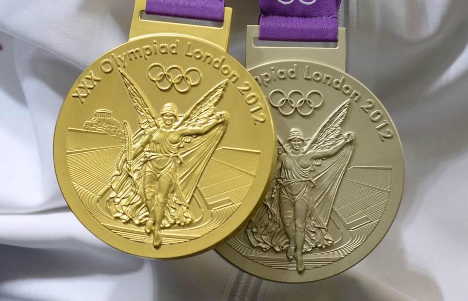 медали лондон