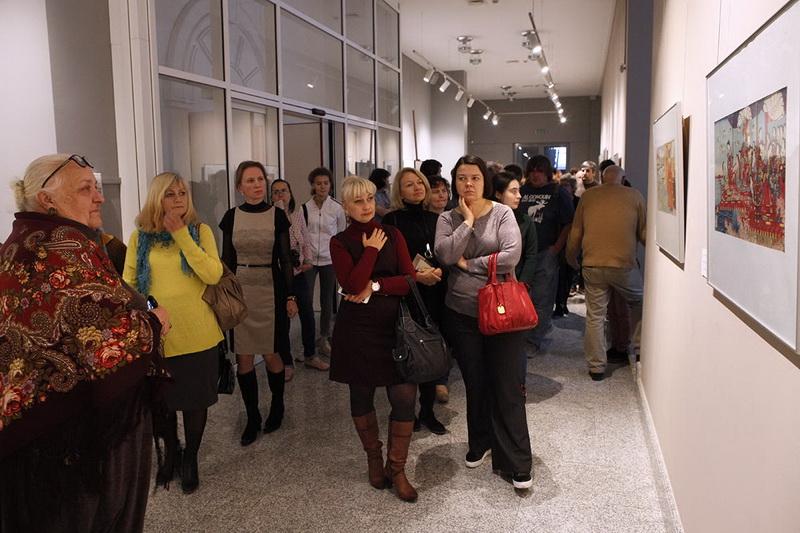 Открытие выставки «Страна Ямато в японской и европейской гравюре XVII–XIX вв.»