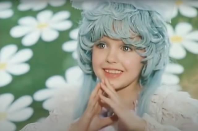 Татьяна Проценко в роли Мальвины.