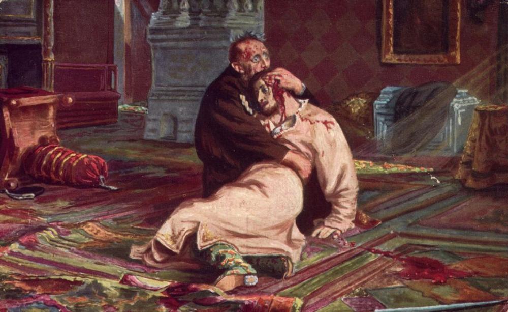 «Иван Грозный убивает своего сына».