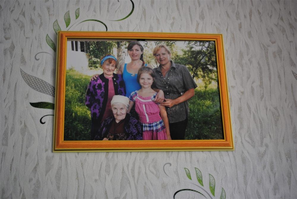 5 поколений семьи.