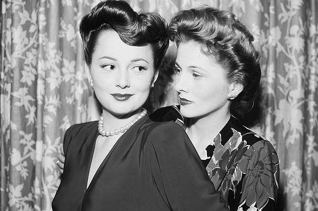 С сестрой Джоан Фонтейн актриса соперничала не только из-за славы, но и из-за мужчин.