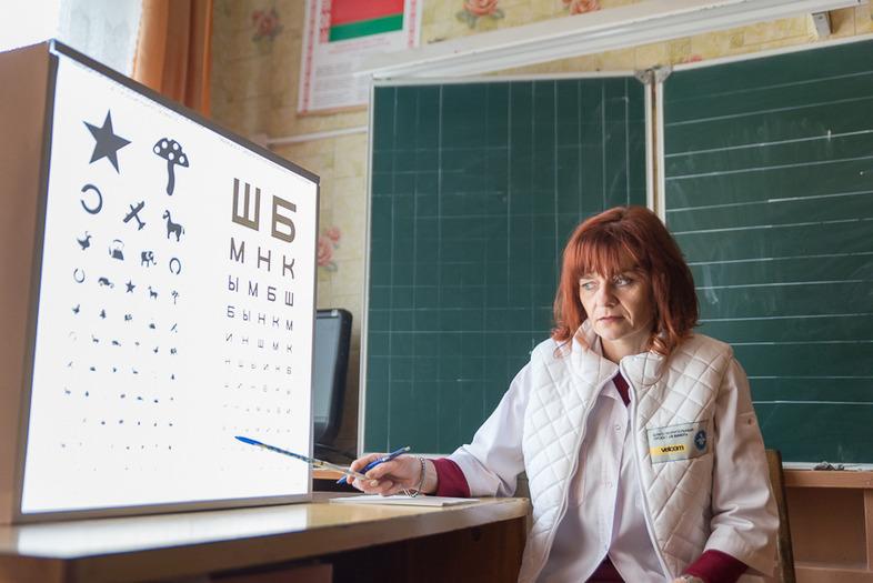Врач-офтальмолог Могилевской областной детской больницы Наталья Зданко