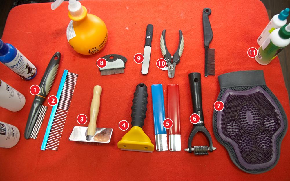 Инструменты для ухода за животными