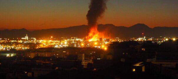 взрыв в Таррагоне