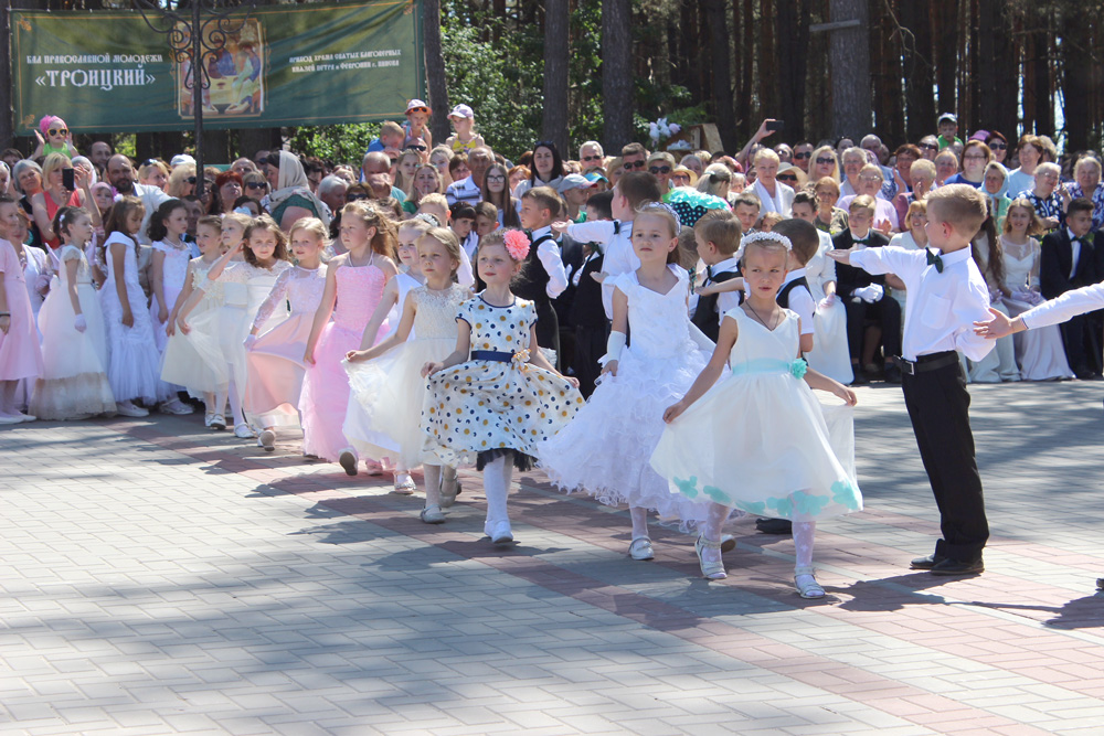 Бал православной молодежи в Пинске