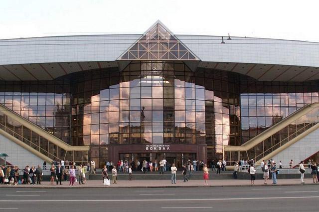 Современный вокзал.