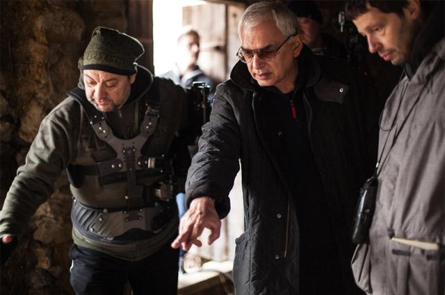 Карен Шахназаров на съемках «Анны Карениной».