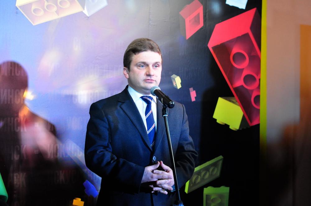 На фото: заместитель председателя Мингорисполкома Игорь Юркевич.