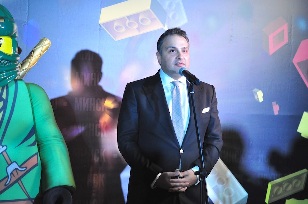 На фото: глава компании «Берин Арт Менеджмент»Максим Берин.