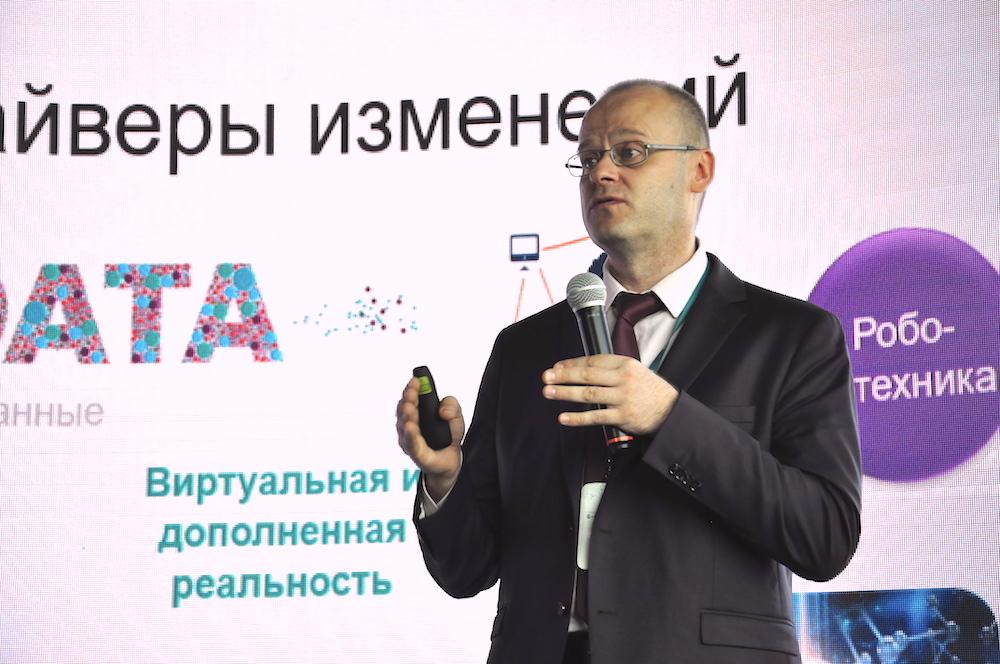 На фото генеральный директор компании beCloud Сергей Поблагуев.