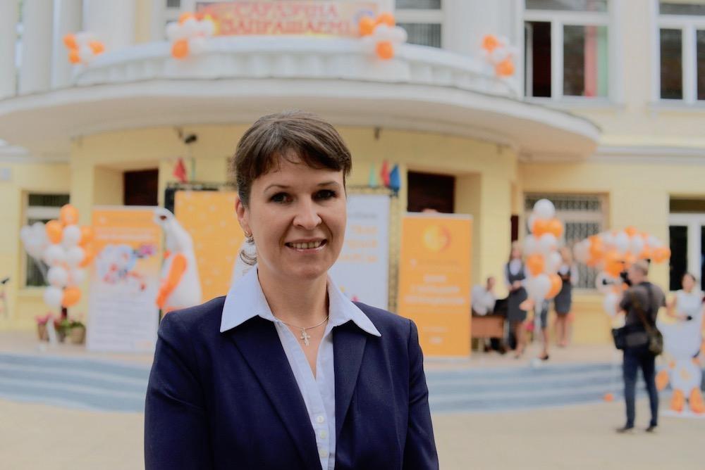 На фото: главный специалист отдела финансовой грамотности в управлении информации и общественных связей Национального банка Республики Беларусь Светлана Балыдко.