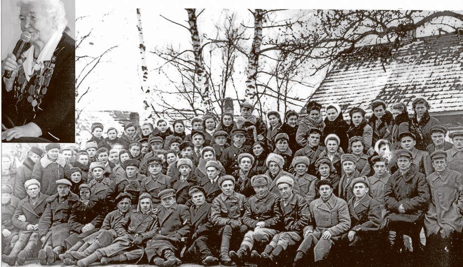 Парткурсы при Минском обкоме, 1946 год.