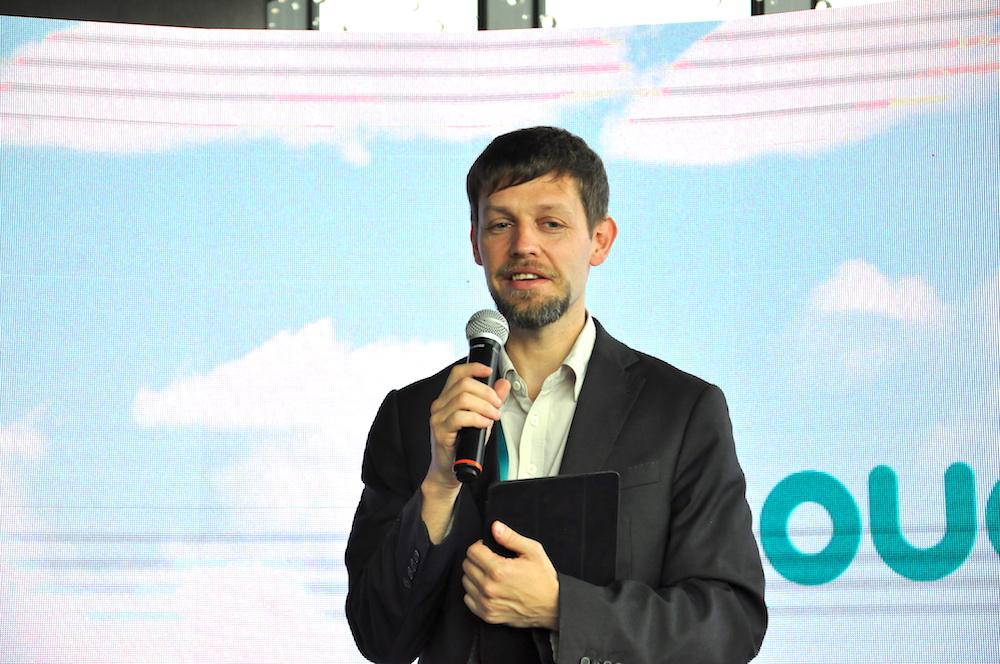 На фото заместитель министра связи и информатизации Республики Беларусь Дмитрий Шедко.
