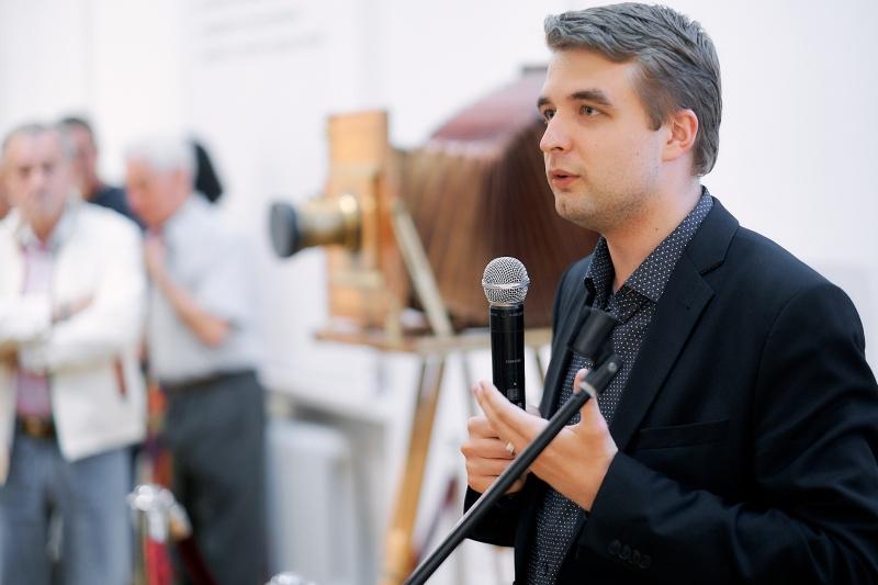 Директор Национального исторического музея Республики Беларусь Павел Сапотько