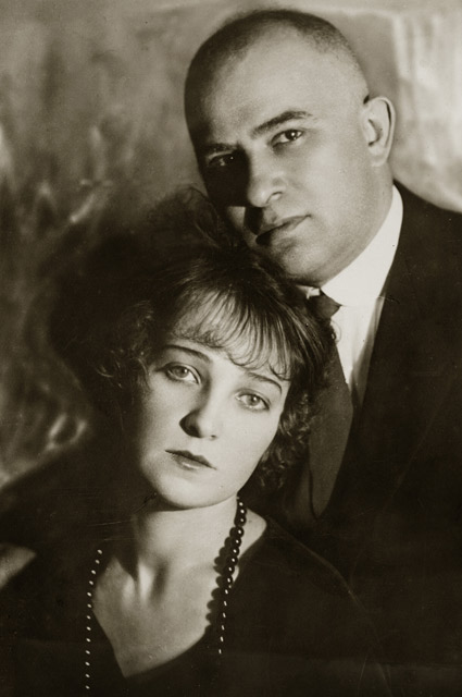 Иосиф Лангбард с супругой Ольгой.