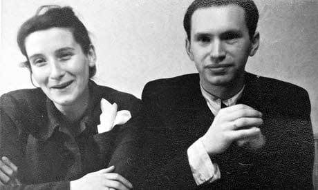 Маркус Клингберг с женой Вандой (1950-е годы).