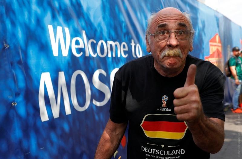 Ночевал Губерт Вирт в прицепе, переделанном в дом на колесах, а болел, разумеется, за сборную Германии.