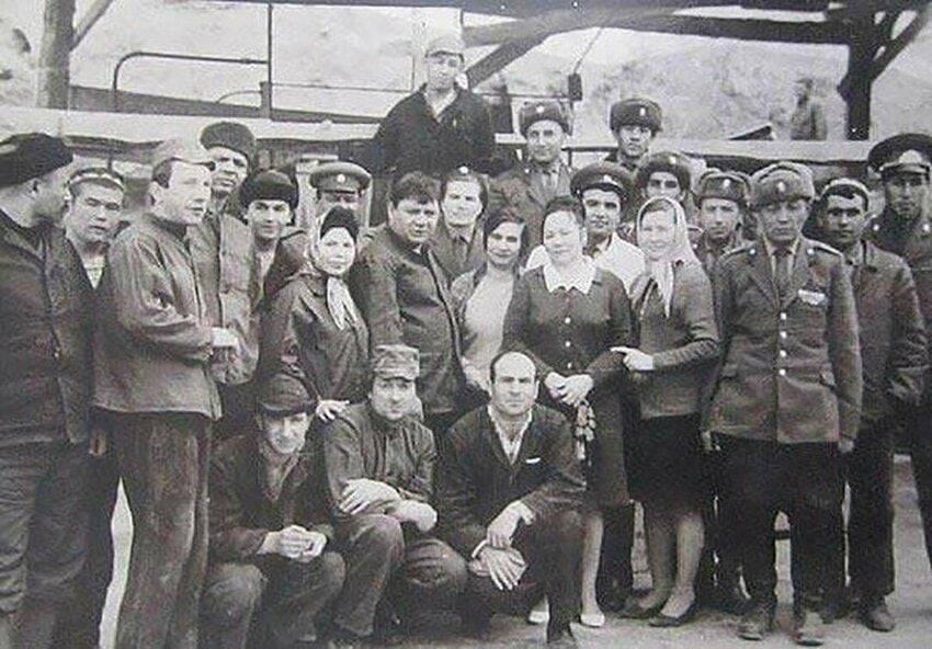Съемочная группа фильма «Джентльмены удачи».