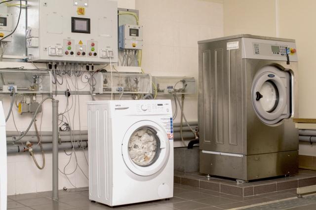 Испытание стиральных машина на заводе ATLANT.