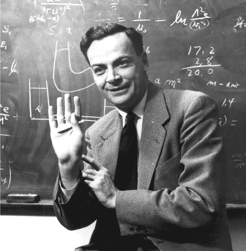 Ричард Филлипс Фейнман (1918-1988), Нобелевская премия по физике, 1965 г.