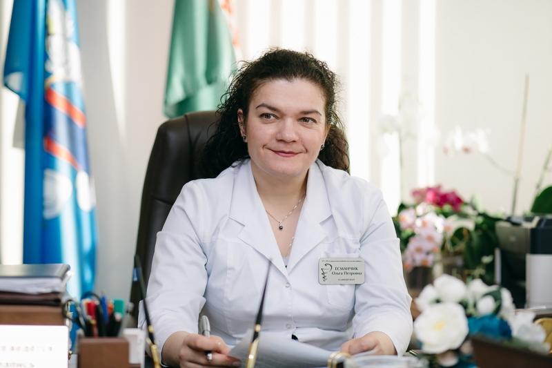 Ольга ЕСМАНЧИК, главный врач учреждения здравоохранения «39-я городская клиническая поликлиника»