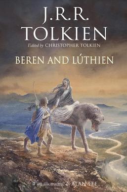 Обложка англоязычного издания «Повести про Берена и Лютиен».