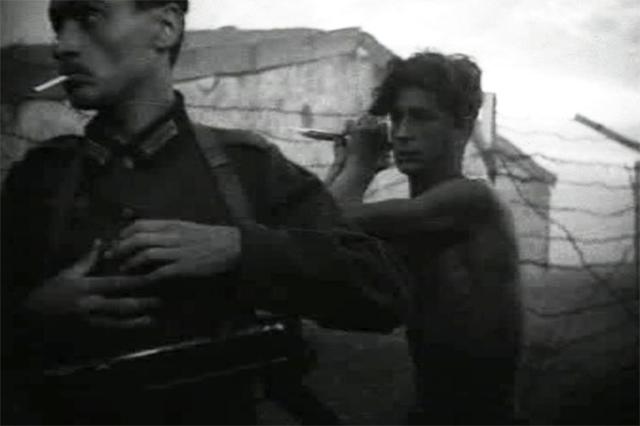 В фильме «Молодая гвардия», 1948 год.