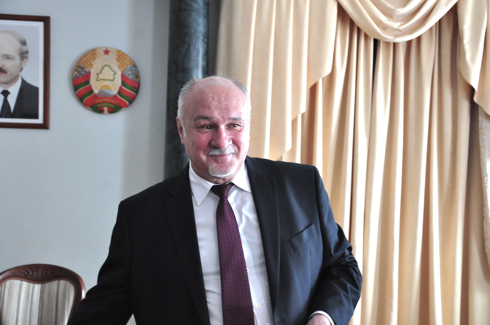 На фото: генеральный директор Национального академического Большого театра оперы и балета Беларуси Владимир Гридюшко.