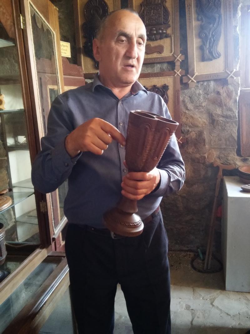 Кемал Турманидзе - автор и основатель музея.