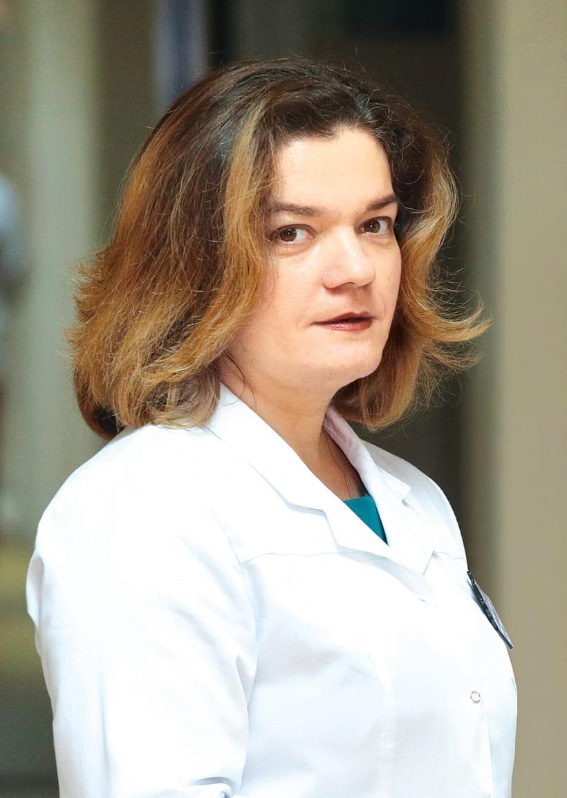 Ольга ЕСМАНЧИК, главный врач 39-й минской поликлиники