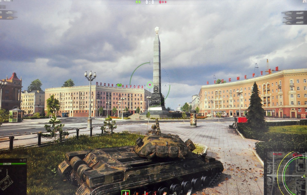 Площадь Победы в World of Tanks.