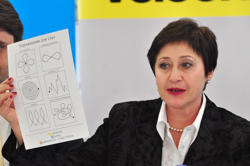 На фото: заместитель директора Белорусского детского фонда Ирина Чернякова.