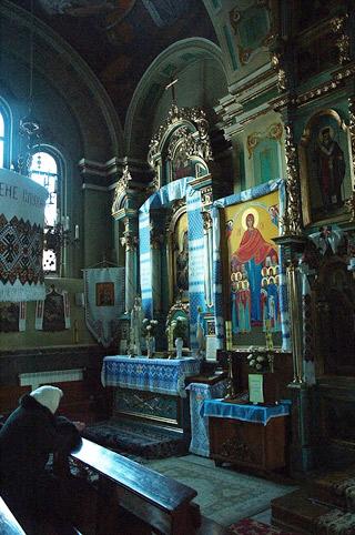 В храме Святого Николая.