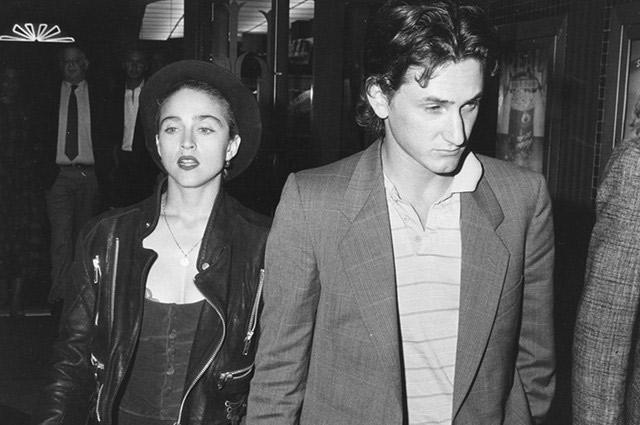 Мадонна и Шон Пенн.
