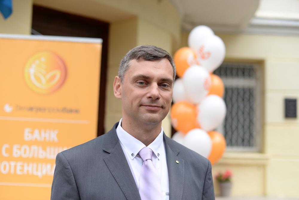 На фото:заместитель Председателя Правления ОАО «Белагропромбанк» Сергей Чугай.