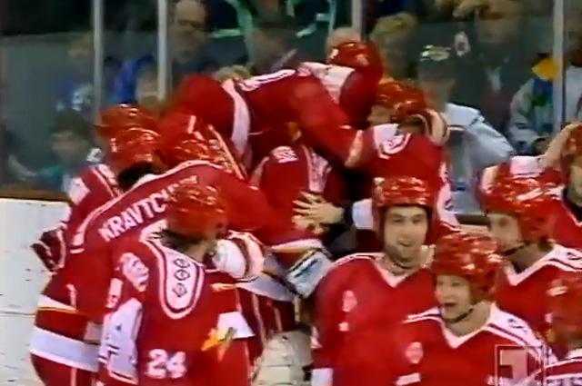 Победа сборной СНГ на Зимних Олимпийских играх в Альбервилле 1992 года