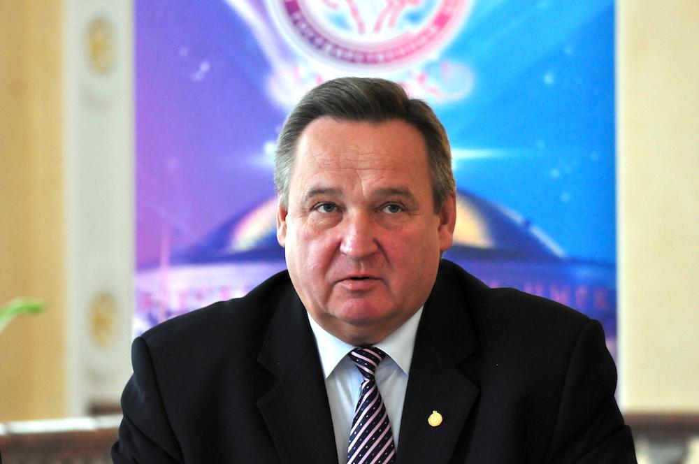 На фото директор Белорусского государственного цирка Владимир Шабан.
