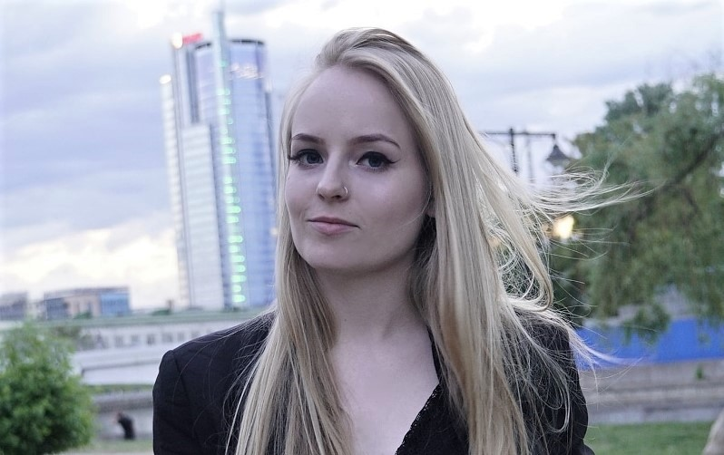 Вероника Сайко, правнучка белорусского академика Александра Степановича Вечера.