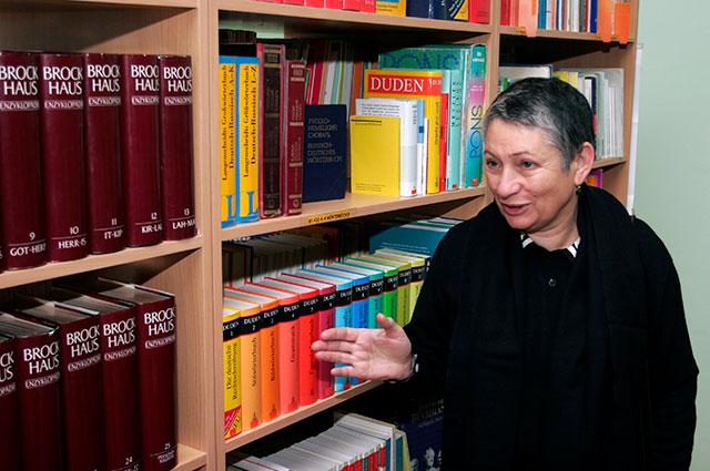 Людмила Улицкая на встрече с читателями.