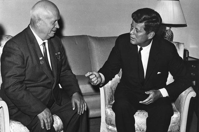Встреча Джона Кеннеди с Хрущёвым, Вена, 3 июня 1961 года.
